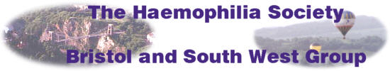 The Haemophilia Society, Bristol and South West Group